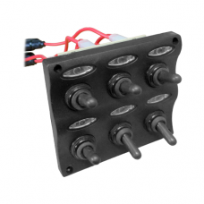 PANEL DE 6 SWITCH LED